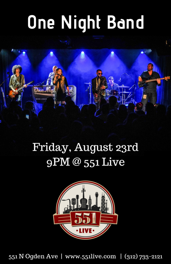 Indika at 551 Live on August 9th